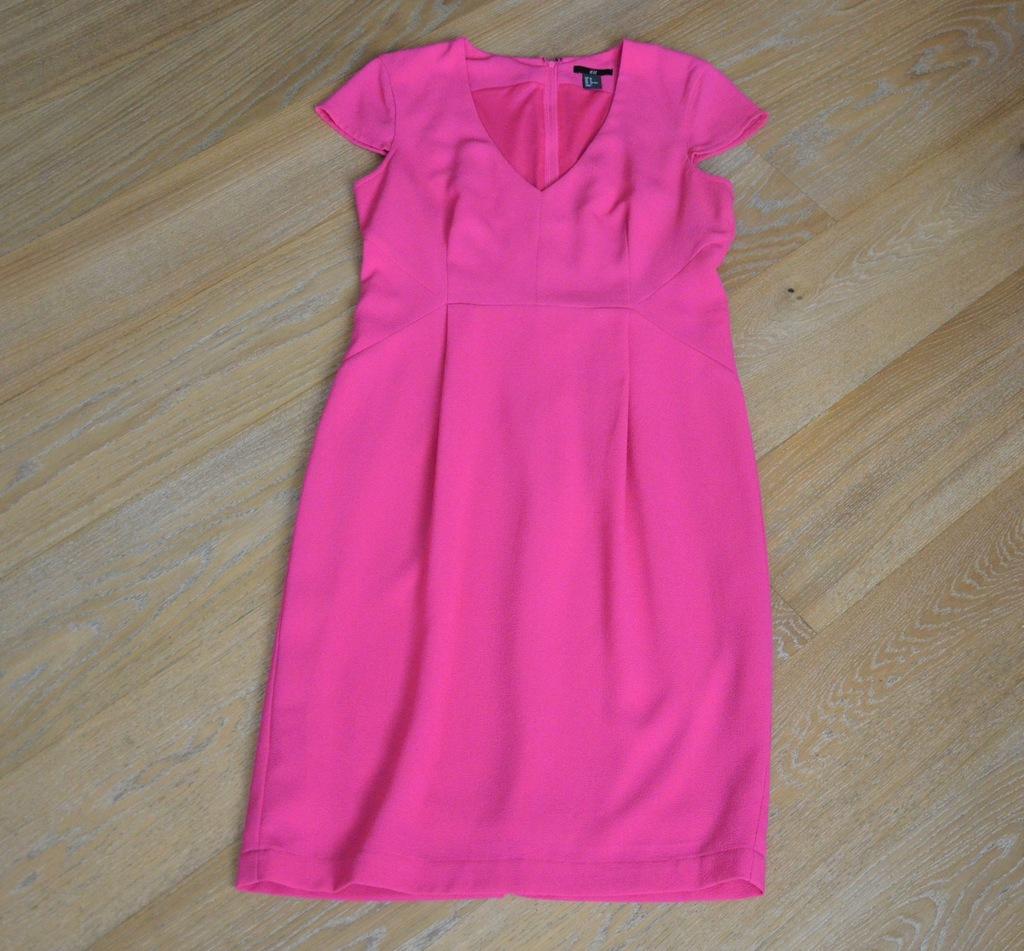 H&M sukienka różowa r. 40/42