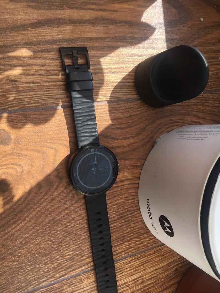 Motorola Moto 360 Black Okazja