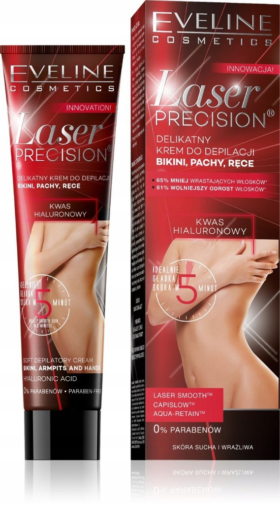 Eveline Laser Precision Krem do depilacji bikini,p