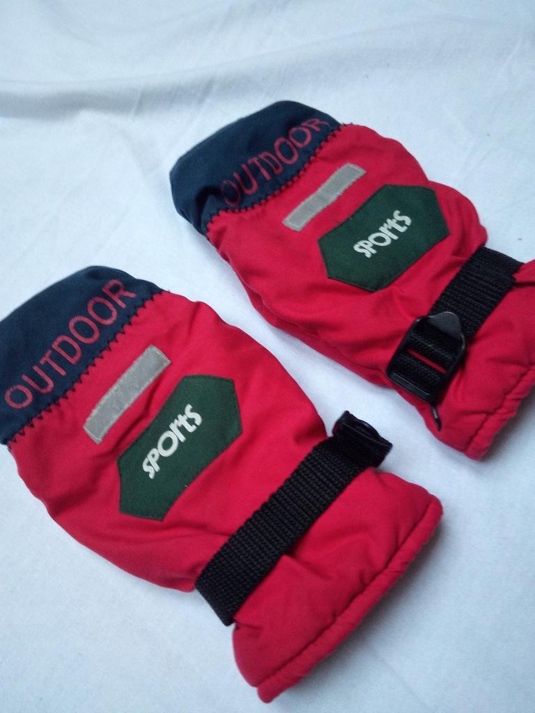 Rękawiczki ocieplane z jednym palcem roz 7 gratis