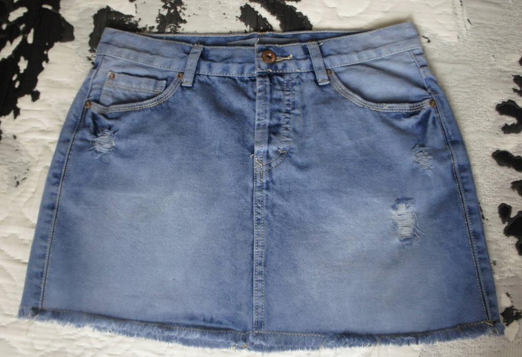 Jeansowa mini spódniczka M New Look