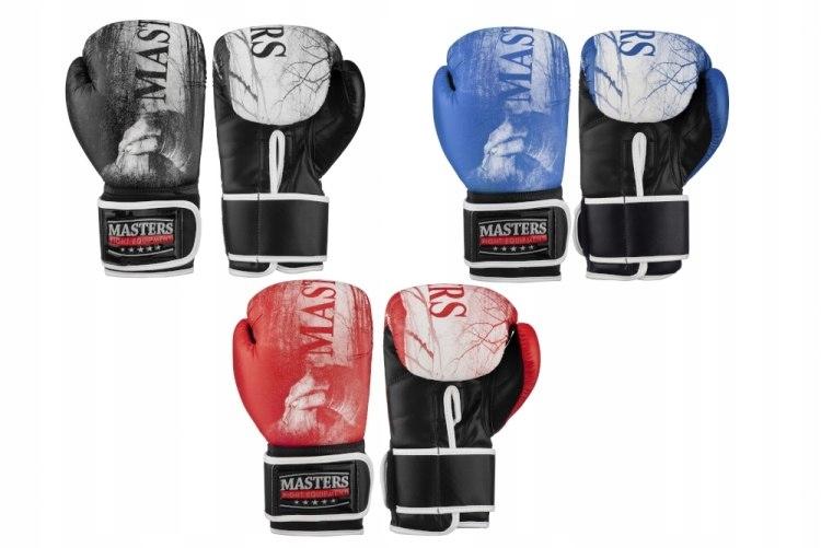 Rękawice bokserskie MASTERS RPU-MT NOWE KOLORY