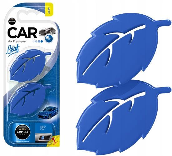 Odświeżacz powietrza AROMA CAR LEAF 3D - NEW CAR
