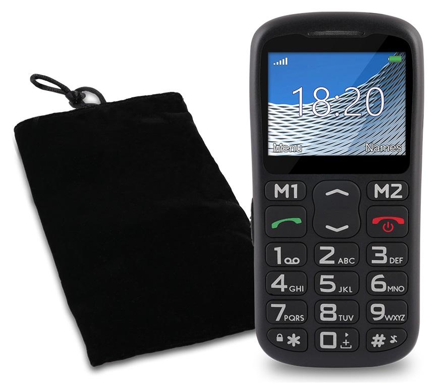 TELEFON DLA SENIORA OVERMAX VERTIS 1820 SOS RADIO