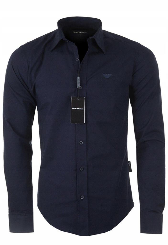 Koszula Emporio ARMANI Slim Fit Stretch Elastan