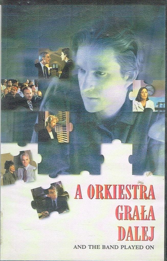 A orkiestra grała dalej Roger Spottiswoode VHS