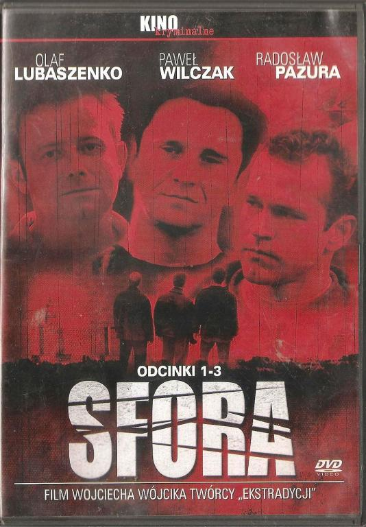 Sfora / 3 DVD /  - serial / odcinki 1- 9