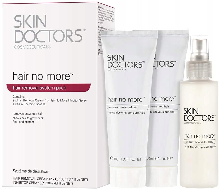 Skin Doctors Hair No More Pack Zestaw do depilacji