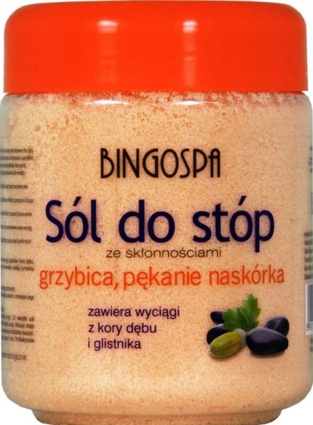 Bingospa Sól Do Stóp Grzybica 550G