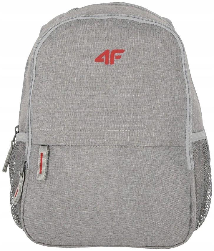 4F plecak H4L19 PCU002 chłodny jasny szary melanż