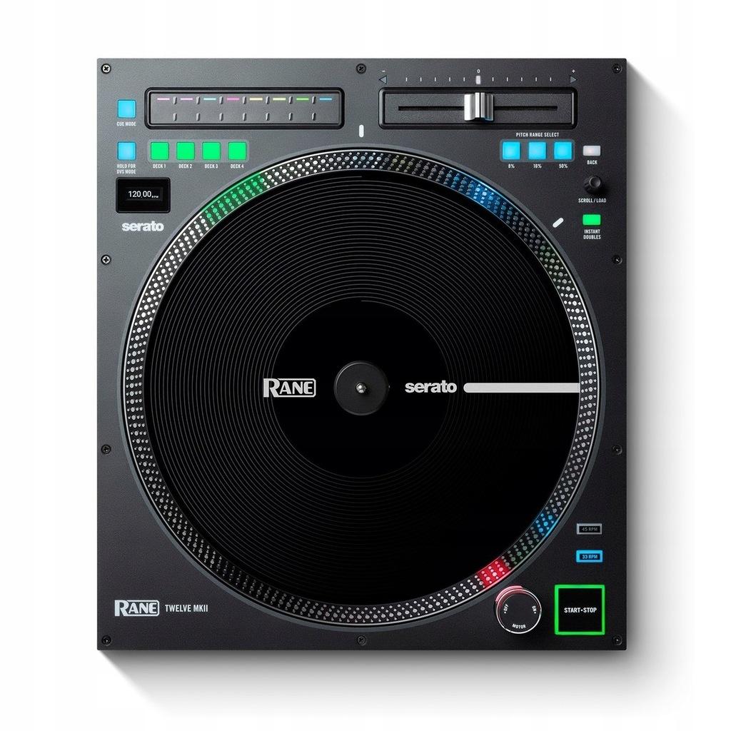 RANE Twelve MK2, kontroler, DJ Serato