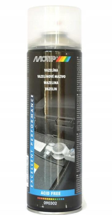 Wazelina spray 500ml MOTIP 090302 olej wazelinowy