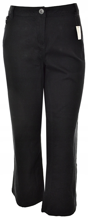 gEEE0137 NEXT NOWE czarne jeansy BOOTCUT 48