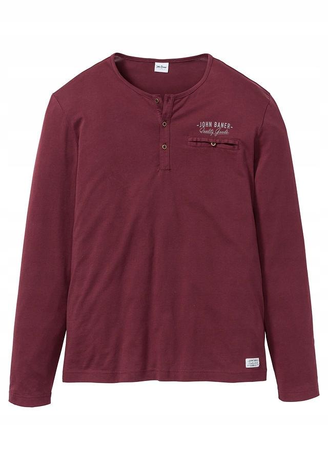 Shirt z długim rękaw czerwony 60/62 (XXL) 967130