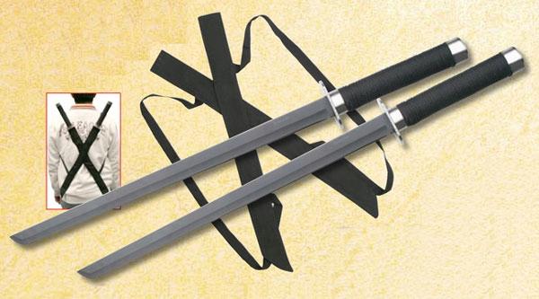 Miecze ninja z pokrowcem