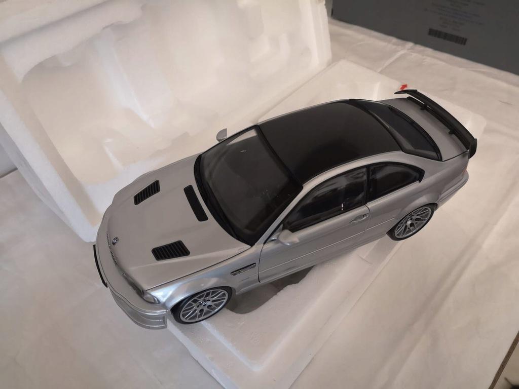 Bmw M3 Gtr E46 Coupe Kyosho 1 18 8587999241 Oficjalne Archiwum Allegro