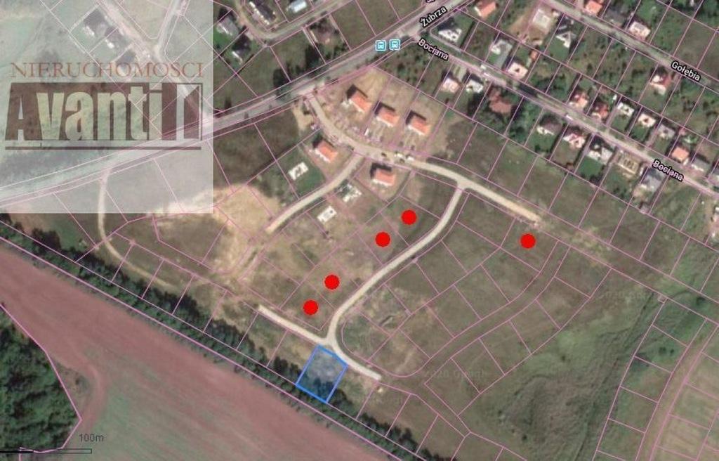 Działka, Kościno, 1086 m²
