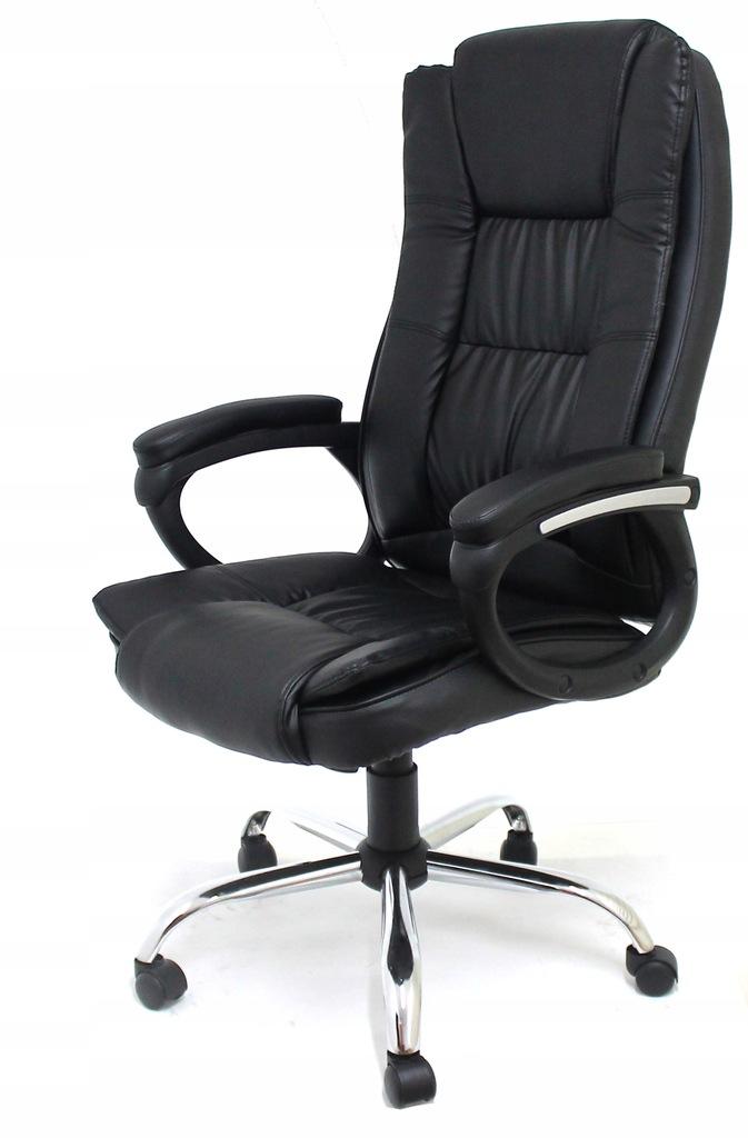 Fotel Biurowy Obrotowy Chrom Krzesło Biurowe Lc05 Ceny i