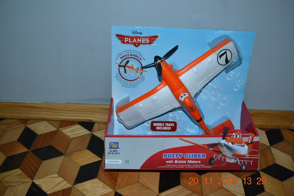 Samolot Disney PLANES Dursty Glider bąbelki OPIS