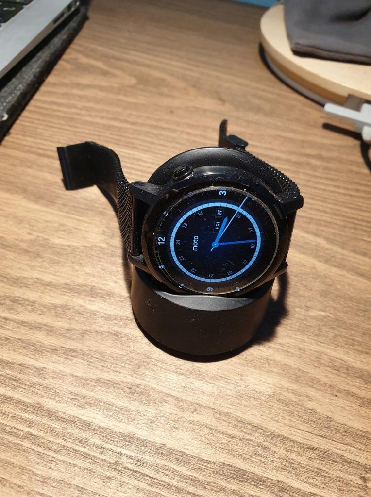 Moto 360 zegarek smartwatch