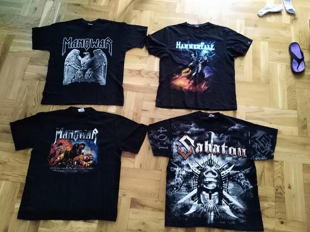 Koszulki, bluzy , Manowar, Sabaton, Hammerfall