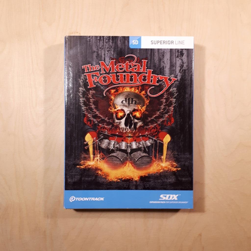 Toontrack SDX The Metal Foundry - BOX