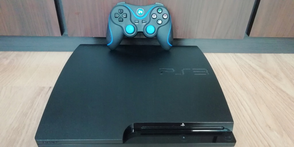 !!PS3!Slim!320GB! HEN4.86!FREE SHOP!HDMI!Pad!!