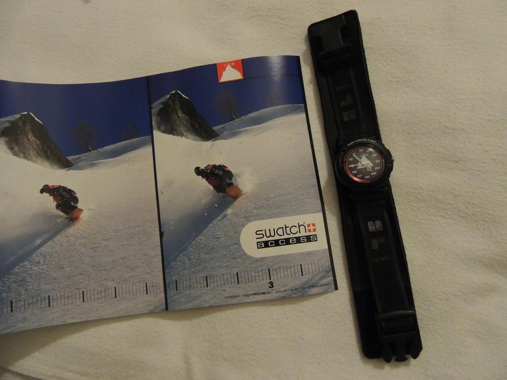 zegarek ~~ swatch SHN 101 S/L ~~ sportowy