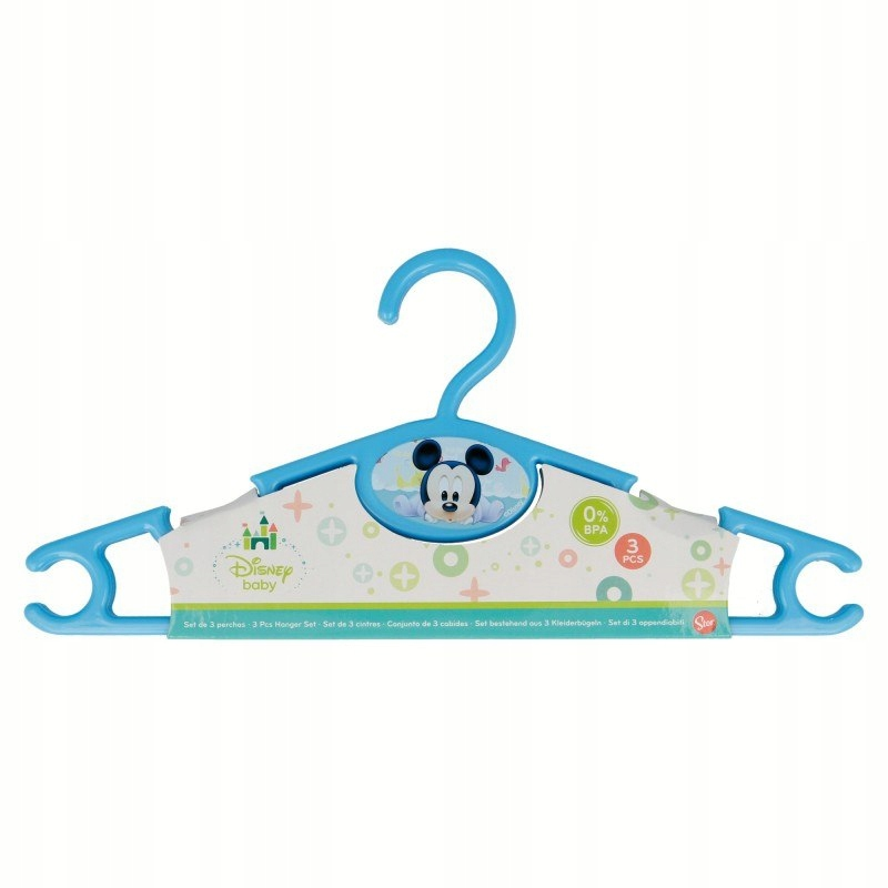 Mickey Mouse - Wieszaki (3 szt)
