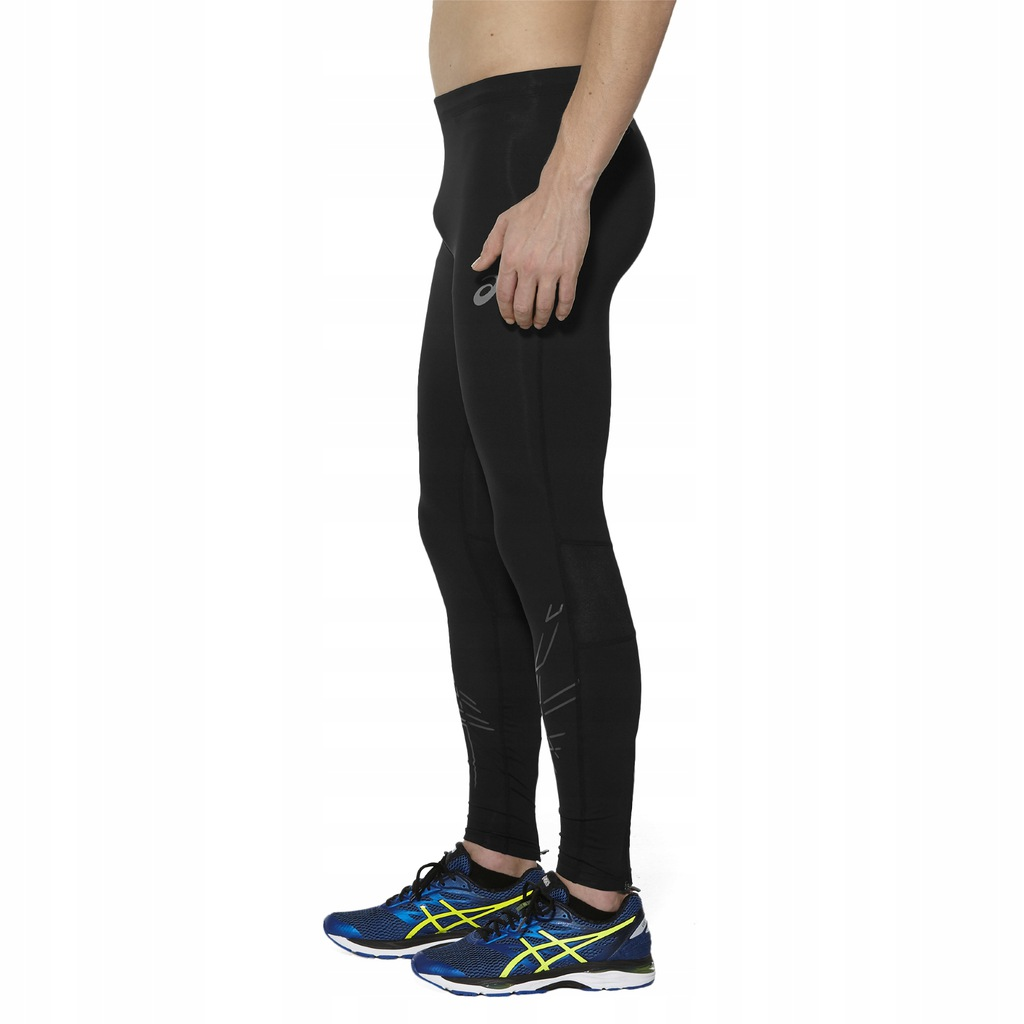 męskie getry legginsy leginsy Asics Stripe Tight S