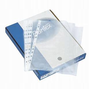Bantex Koszulki krystaliczne na dokumenty A4