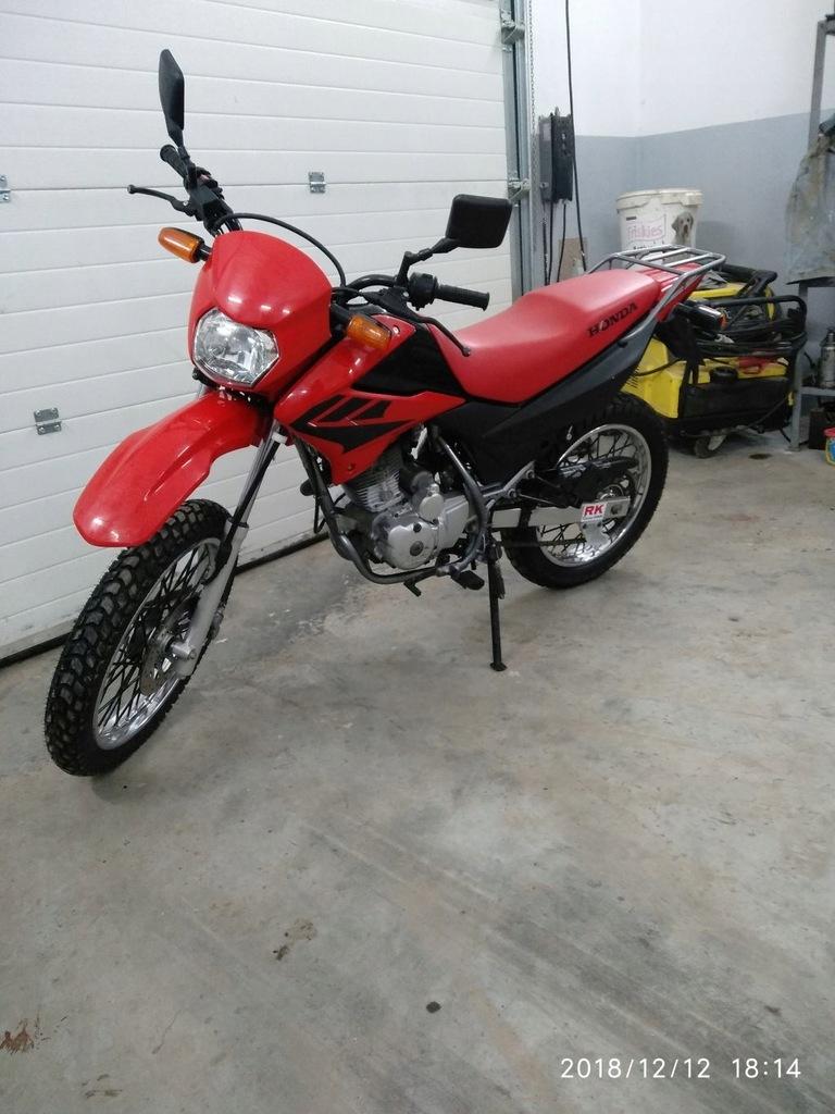 Honda Xr 125 L Enduro 7722963711 Oficjalne Archiwum Allegro