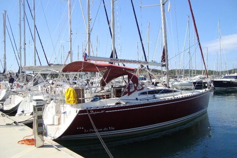 Delphia 37 (2007), jacht żaglowy w Chorwacji