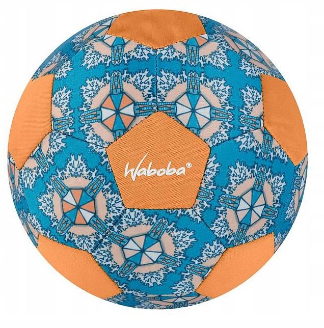 Waboba mini beach soccer junior 200 mm guma niebie