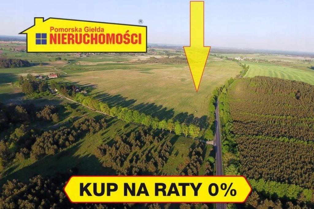 Działka, Parsęcko, Szczecinek (gm.), 10774 m²