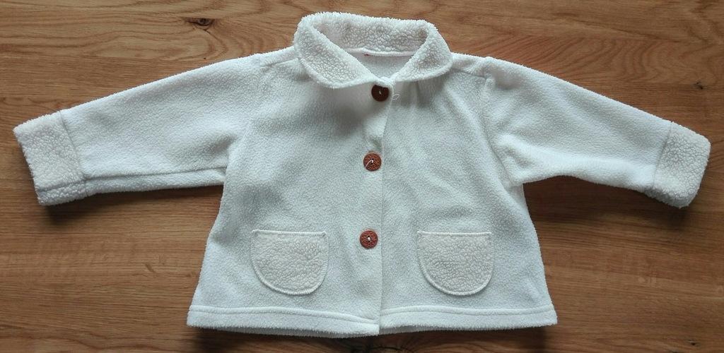 Polarowa bluza dla niemowlaka rozmiar 86/92