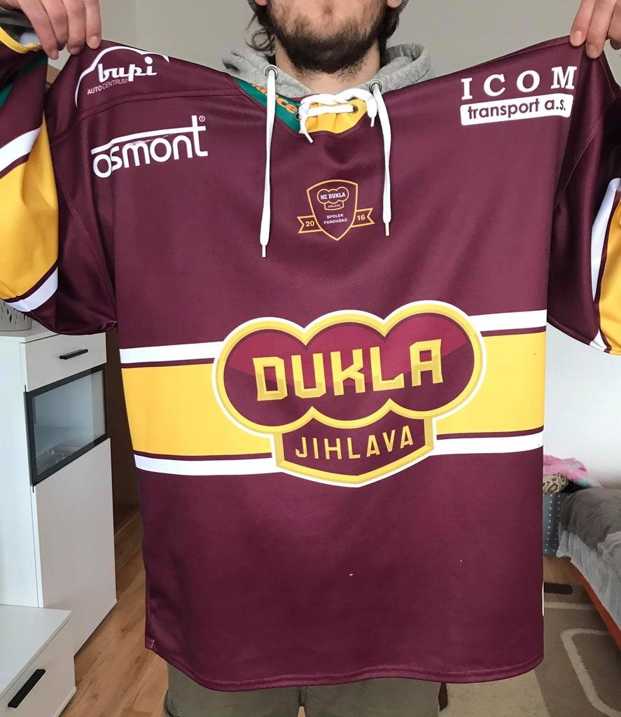 Oryginalna bluza hokejowa HC Dukla Jihlava