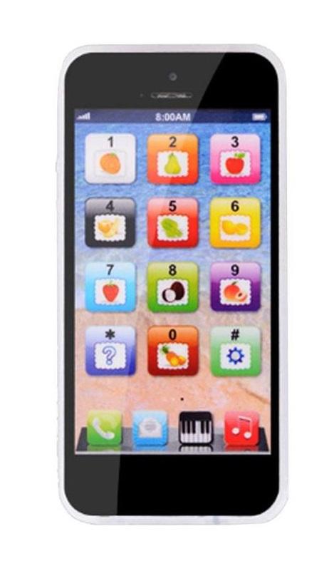 Telefon komórkowy zabawka Smartfon Iphon dziecko C - 7646484153 ...