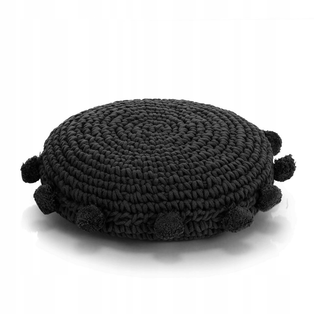 Dziana poduszka podłogowa, okrągła, bawełna, 45 cm