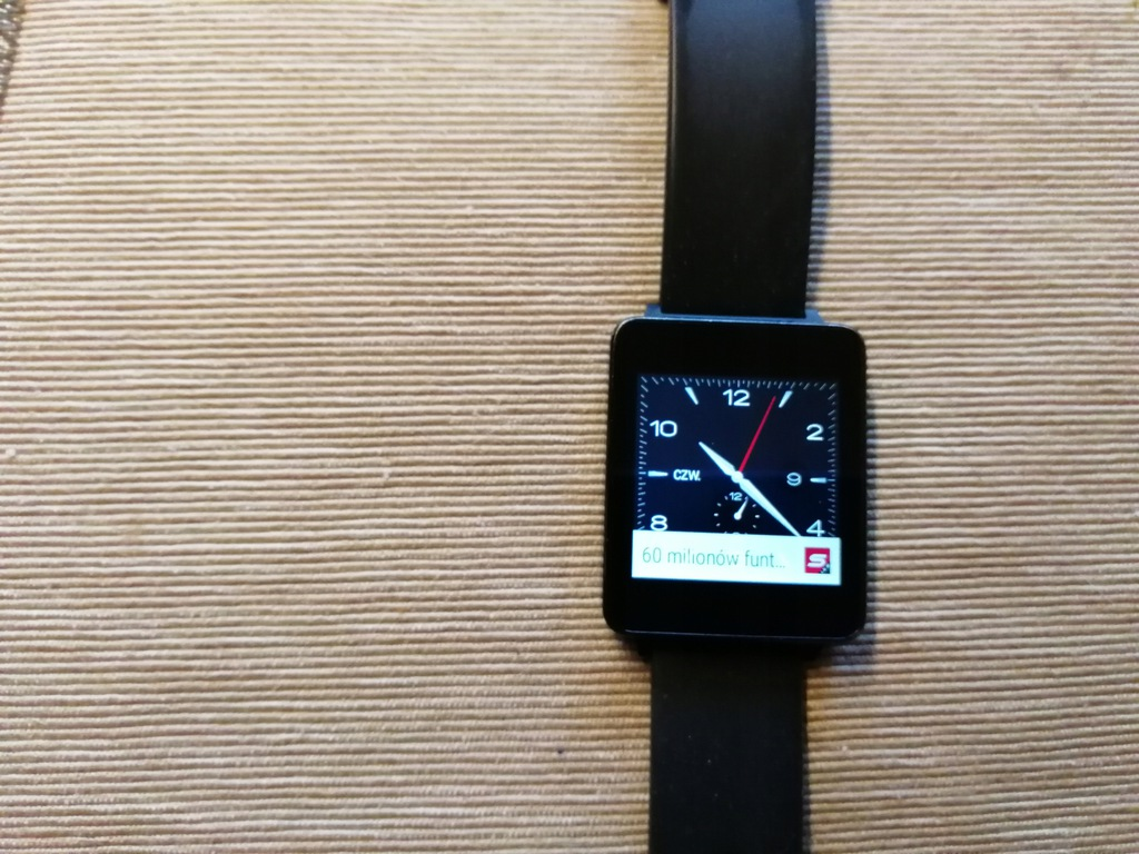 Smartwatch LG G Watch