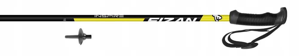 Kije narciarskie Fizan INSPIRE Yellow 135cm