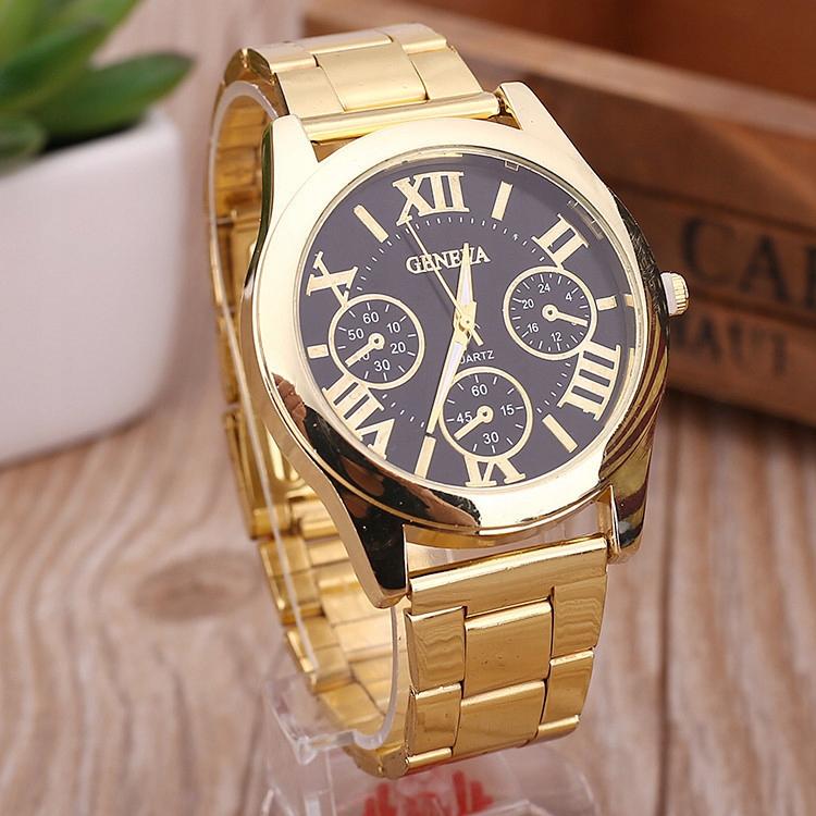 Elegancki zegarek damski GENEVA ZŁOTY