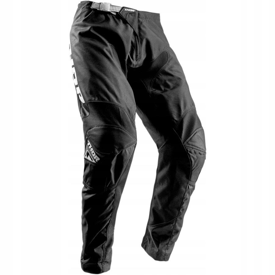Spodnie cross THOR Sector Zones czarne 34