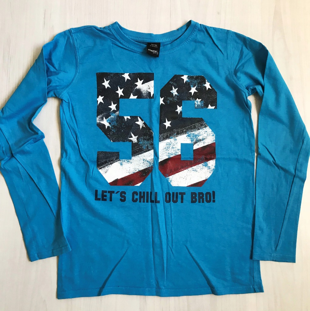 C&A FAJNA koszulka blue r. 158/164
