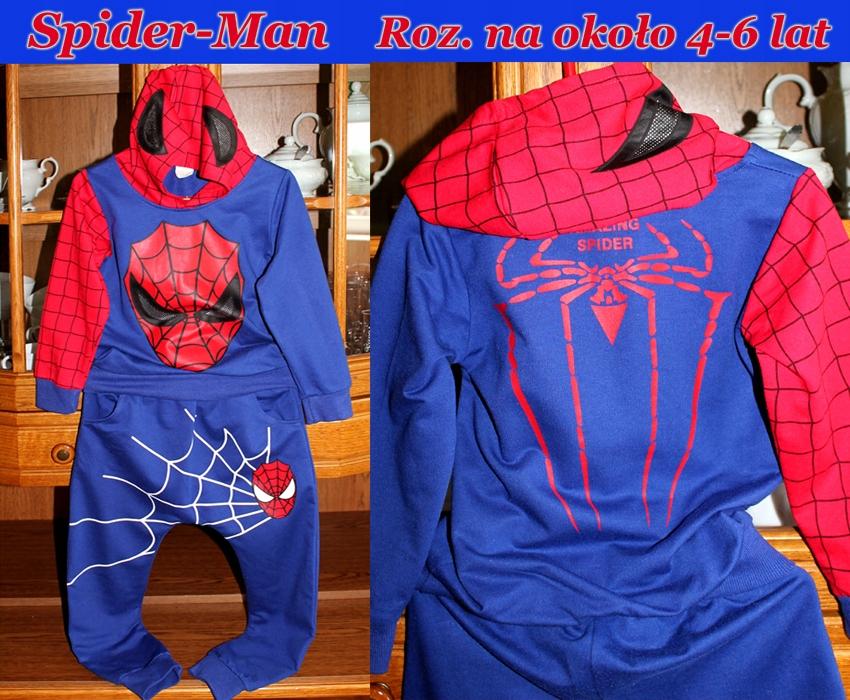 Spider-Man Zjawiskowy dres-komplet r.116 cm