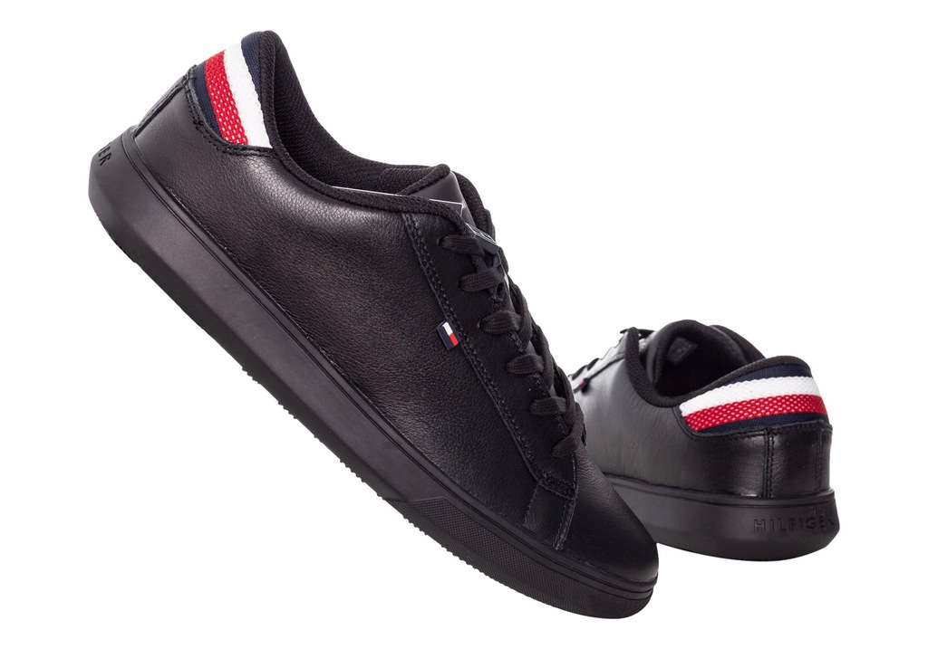 TOMMY HILFIGER BUTY TRAMPKI ESSENTIAL LEATHER R:46