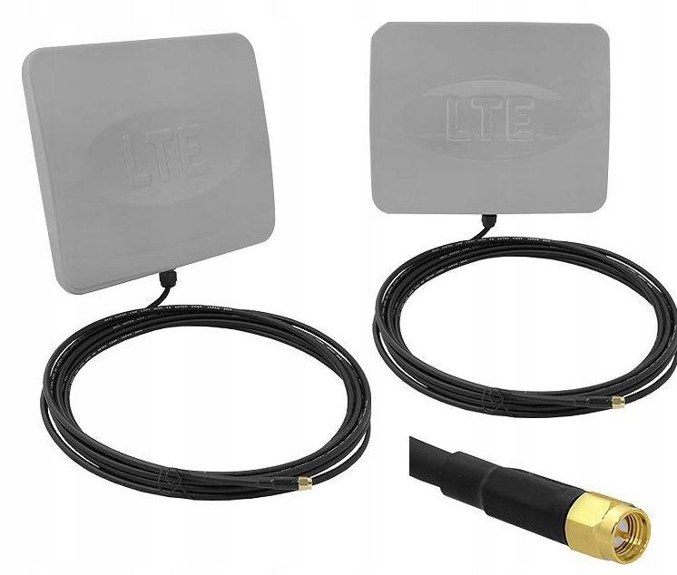 Antena 2 x 12 dB LTE/UMTS podwójna / 1195