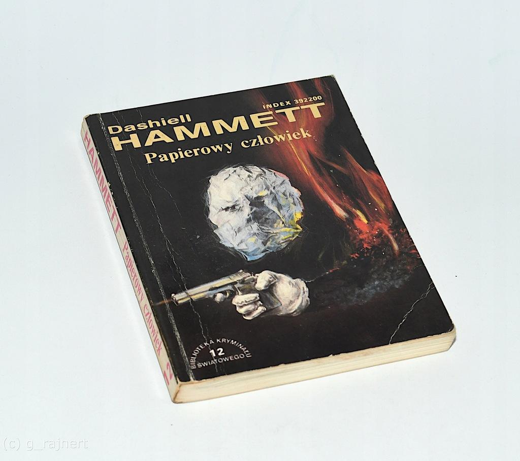 Dashiell Hammett Papierowy człowiek
