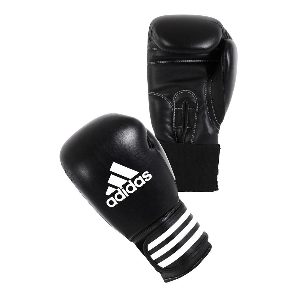 Rękawice bokserskie marki Adidas skóra naturalnapu3g
