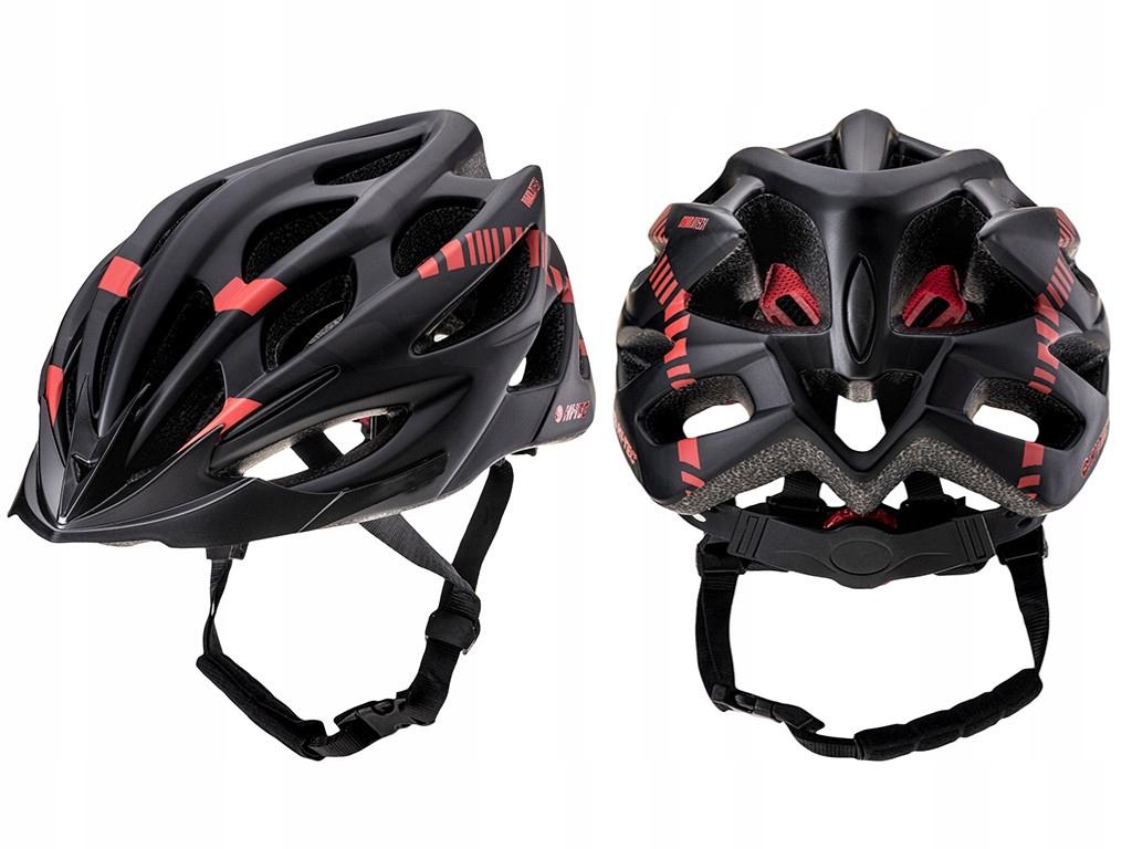 Kask rowerowy regulowany na rower rolki L 58-61